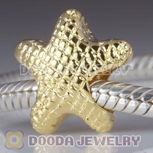 Gold Plated Charm Jewelry Silver Beads