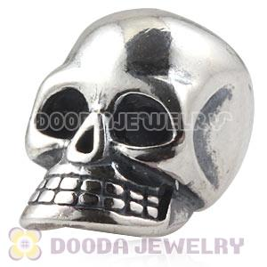 925 Sterling Silver European Skull Charms Beads Wholesale
