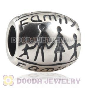 Antique 925 Sterling Silver European FAMILY Charms Beads Wholesale