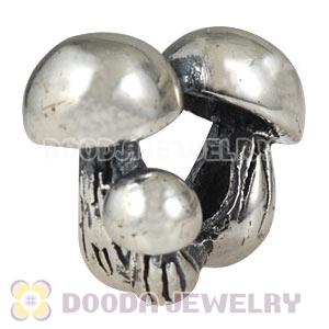 Antique Sterling Silver European Mushrooms Family Charms Beads Wholesale
