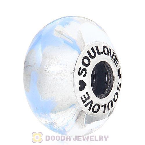 High Grade SOULOVE Glass Beads 925 Silver Core with Screw Thread