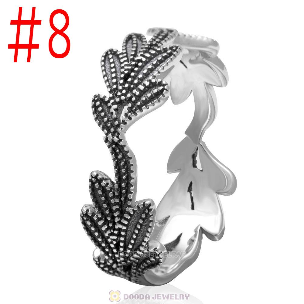 European 925 Sterling Silver Cactus Ring Wholesale
