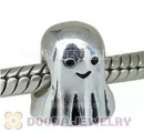 European Style Ghost Silver Charm Beads